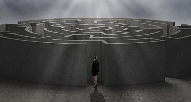 چرا زمانی که گم می شویم دایره وار به دور خود می چرخیم؟