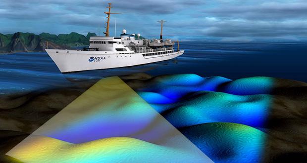 چگونه عمق اقیانوس اندازه گیری می شود؟