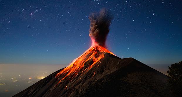 چگونه کوه آتشفشان کار می کند؟