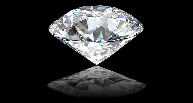 چرا الماس می درخشد؟