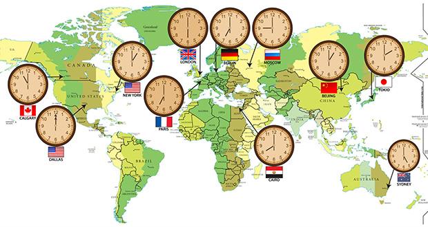 چگونه قاچ های ساعتی تعیین شدند؟