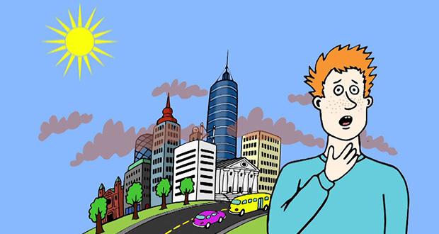 عوارض آلودگی هوا بر سلامتی