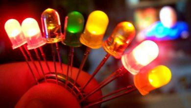 چگونه دیود LED کار می کند؟