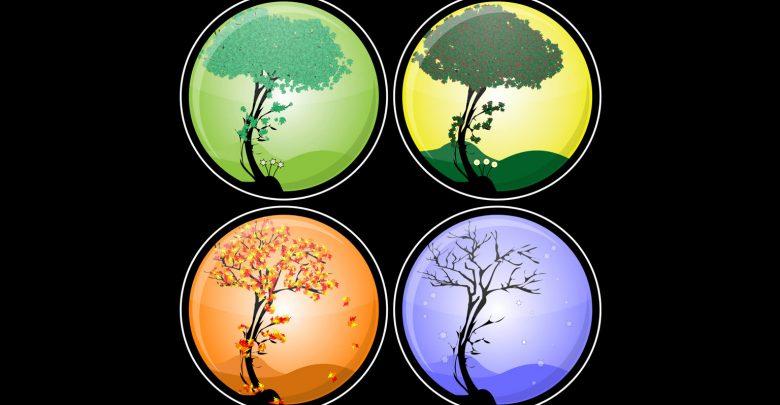 چگونه تغییر فصل ها صورت می گیرد؟