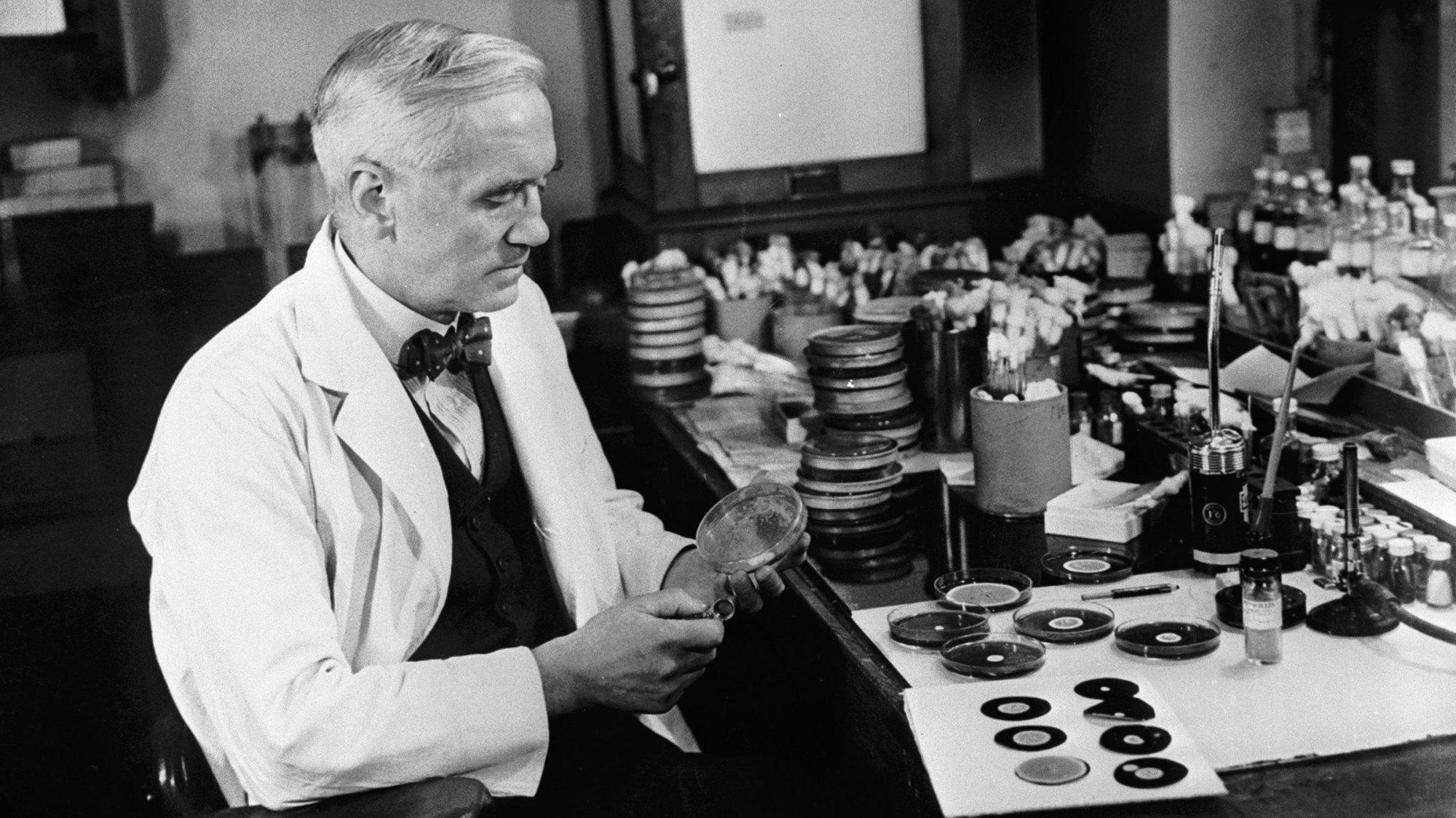 چگونه پنی سیلین توسط الکساندر فلمینگ کشف شد؟