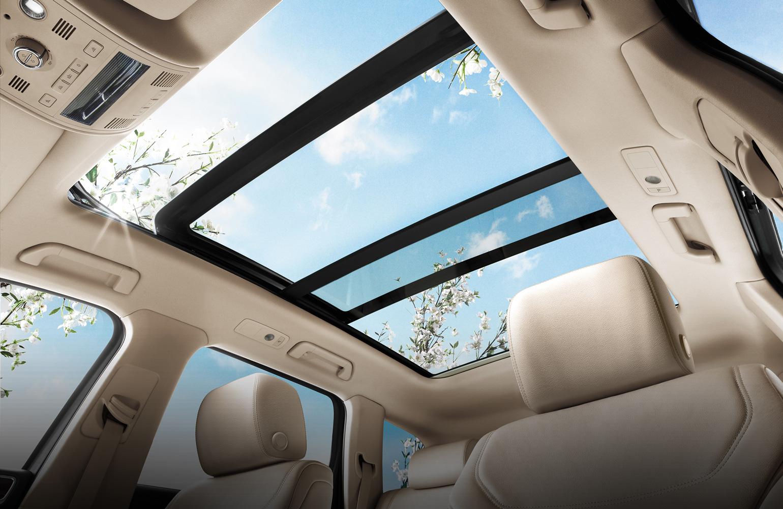 تفاوت سقف های سانروف، مونروف و پانوراما اتومبیل