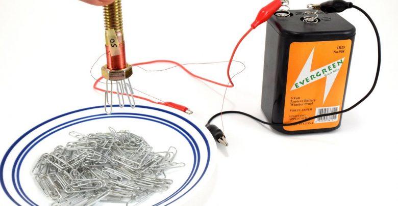 آهنربای الکتریکی چگونه کار می کند؟