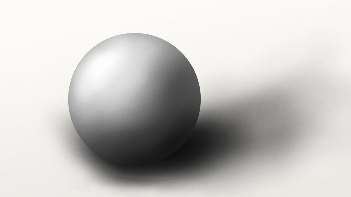 طراحی گوی سه بعدی در فتوشاپ