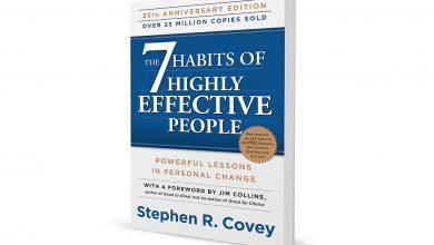 چکیده کتاب هفت عادت مردمان موثر