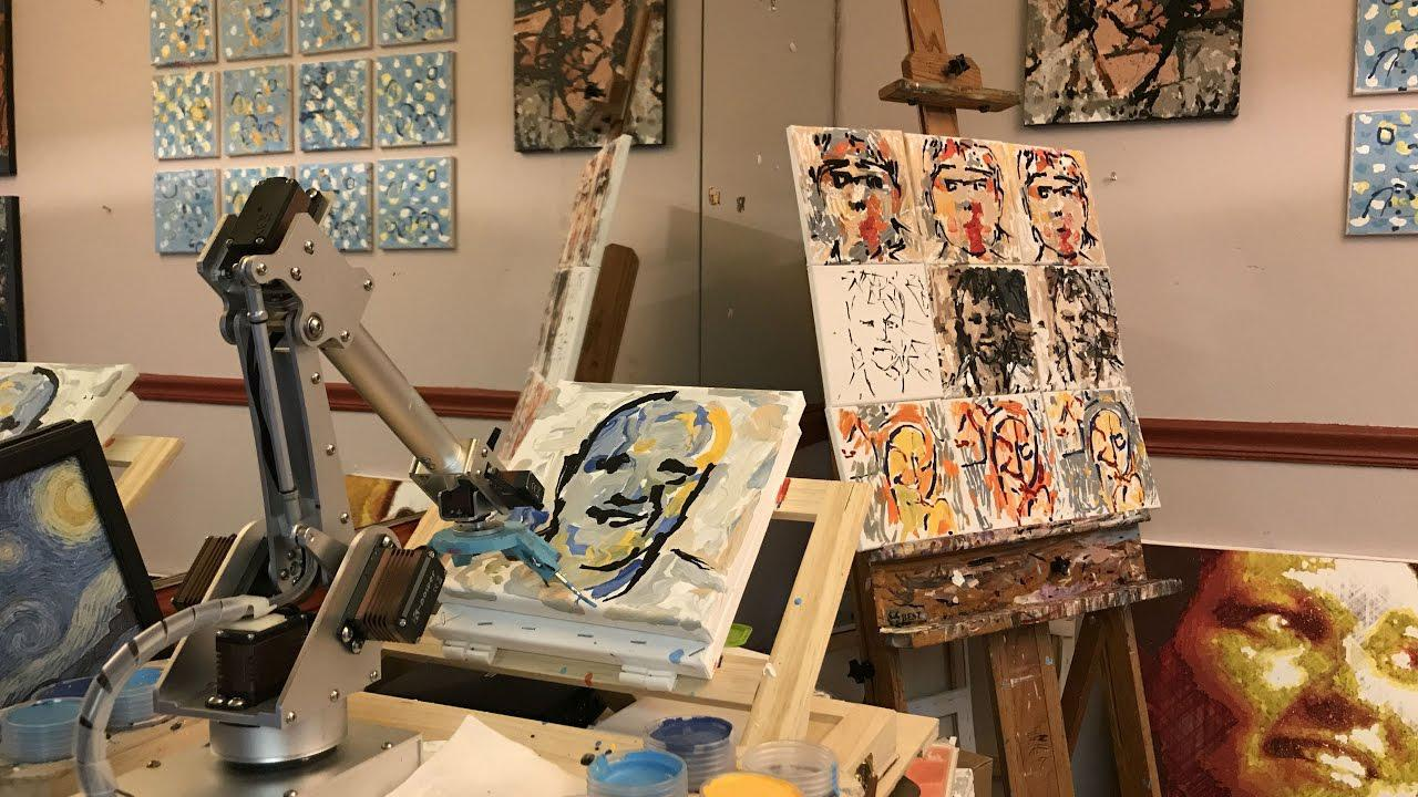 آیا هوش مصنوعی می تواند شاهکار هنری خلق کند؟