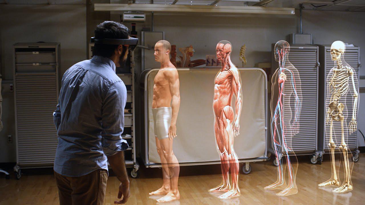 استفاده از هولولنز در علم پزشکی