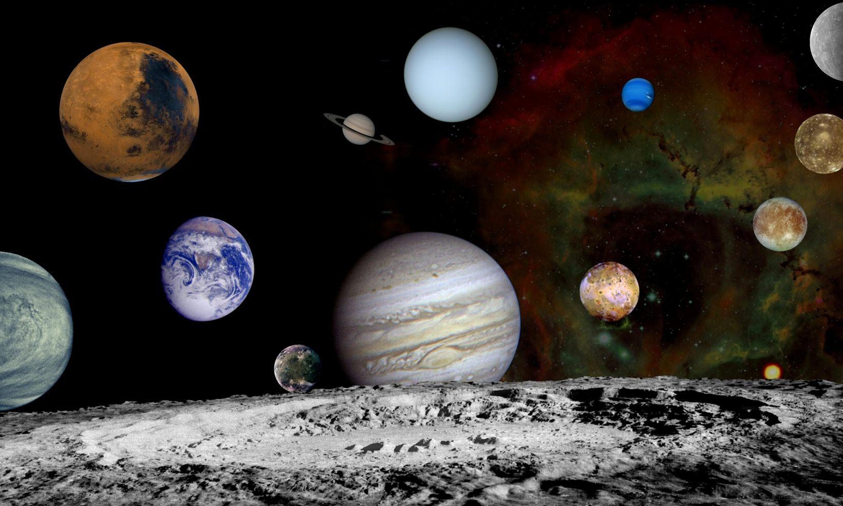 چرا تمام اجرام آسمانی کروی شکل هستند؟