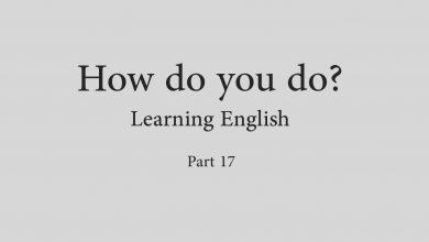 فیلم خودآموز زبان انگلیسی How do you do - قسمت هفدهم
