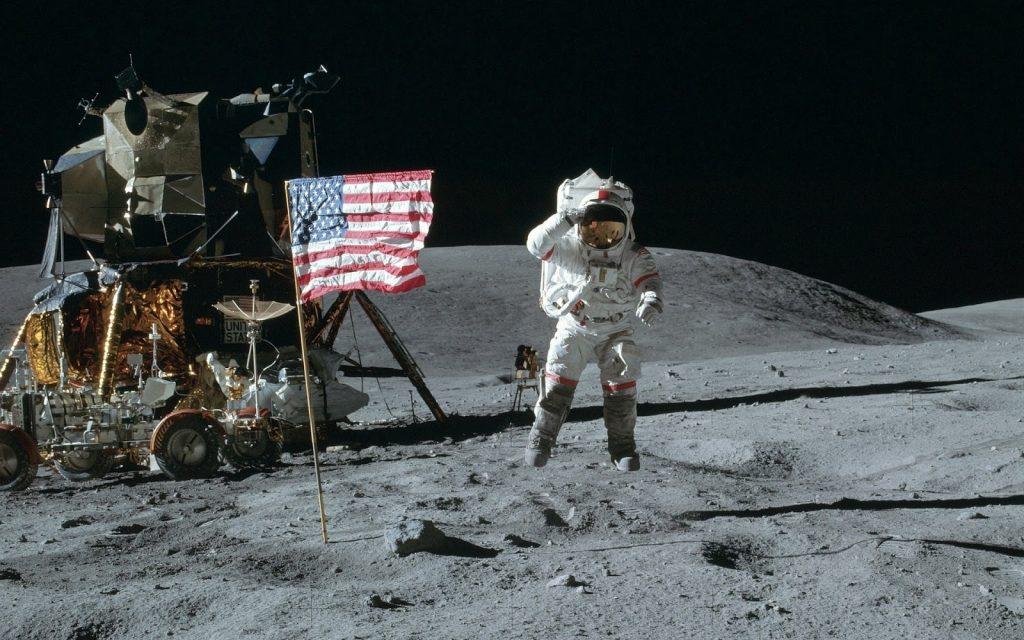 عکس یادگاری ماموریت آپولو 15