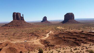 صخره ها و ستون های مرتفع آریزونا چه هستند؟