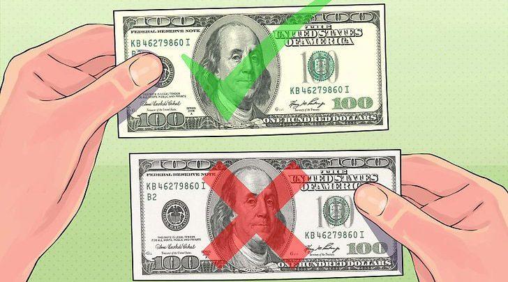 چند روش برای تشخیص دلار تقلبی