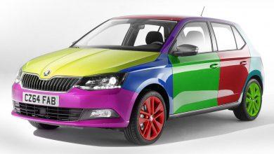خودروها چگونه رنگ می شوند؟