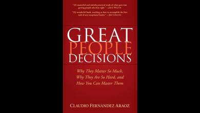 چکیده کتاب تصمیمات افراد بزرگ