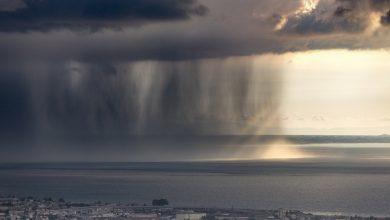 نصف باران زمین طی 12 روز می بارد