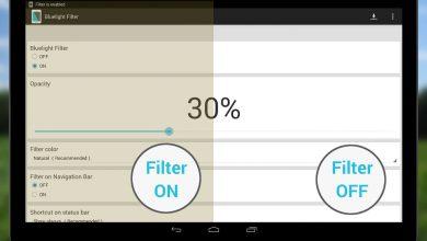 چگونه با فیلتر نور آبی دستگاه های دیجیتال به چشمانمان کمک کنیم؟