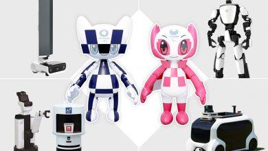المپیک توکیو روباتیک می شود