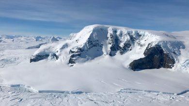 تشعشع رادیواکتیو از یخ های جنوبگان