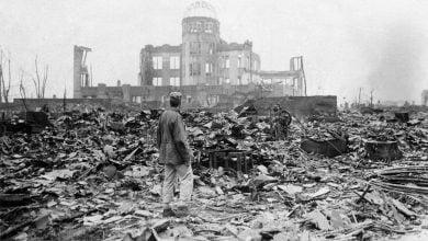 نقش بمب های اتمی در پایان جنگ جهانی دوم