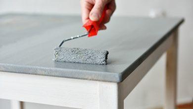 چگونه وسائل چوبی را رنگ کنیم؟